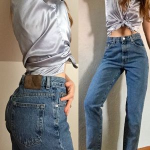 HOLD Vintage CK high rise Mom jeans